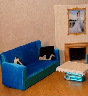 Кукольная мебель для куклы барби